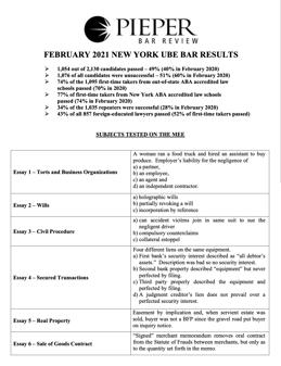 February 2021 State Sheet w Score Report